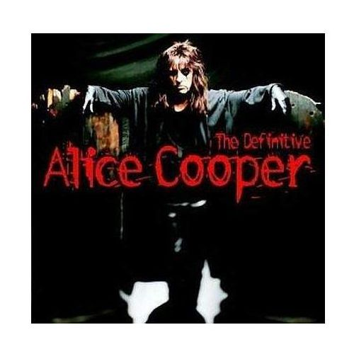 DEFINITIVE ALICE,THE - Alice Cooper (Płyta CD), 8122735342