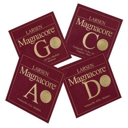 (639506) magnacore struny do wiolonczeli - set - strong 4/4 marki Larsen