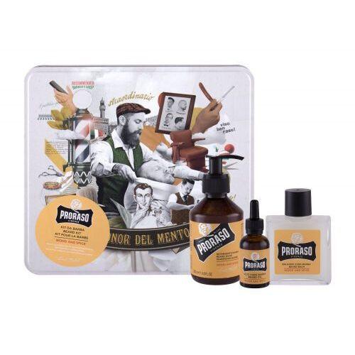 wood & spice beard wash zestaw 200 ml dla mężczyzn marki Proraso