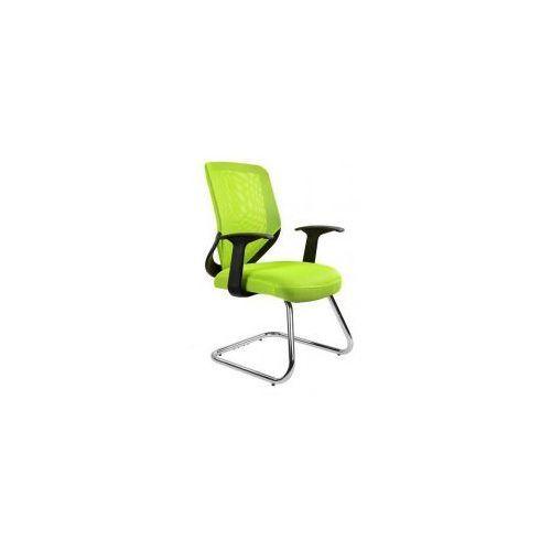 Unique meble Krzesło biurowe mobi skid zielone