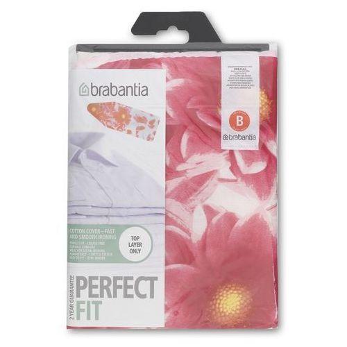 Brabantia  - pokrowiec na deskę do prasowania 124 x 38cm - bez pianki - pink santini