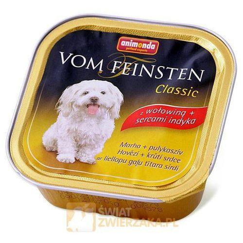 Pokarm dla psa - Wołowina + serca indyka