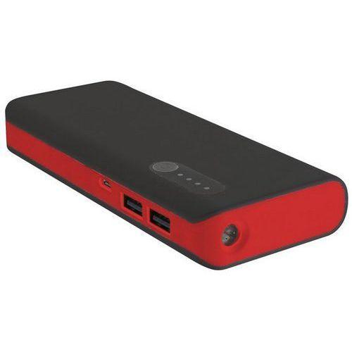 PowerBank PLATINET 42899 (13000 mAh) Czarno-czerwony (5907595428996)