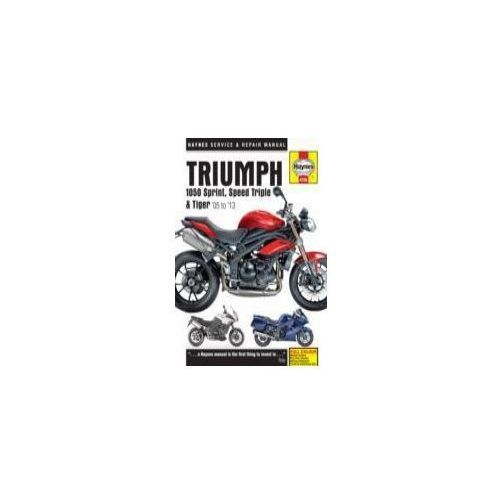 Triumph 1050 Sprint, Speed Triple & Tiger Service and Repair Manual (9780857338761)