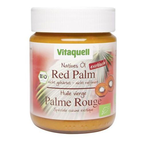 Vitaquell : olej palmowy czerwony native bio - 200 g
