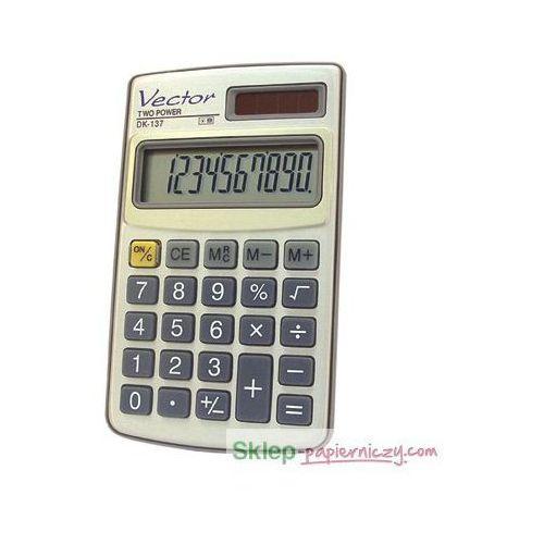 Kalkulator VECTOR DK-137, DK-137. Najniższe ceny, najlepsze promocje w sklepach, opinie.