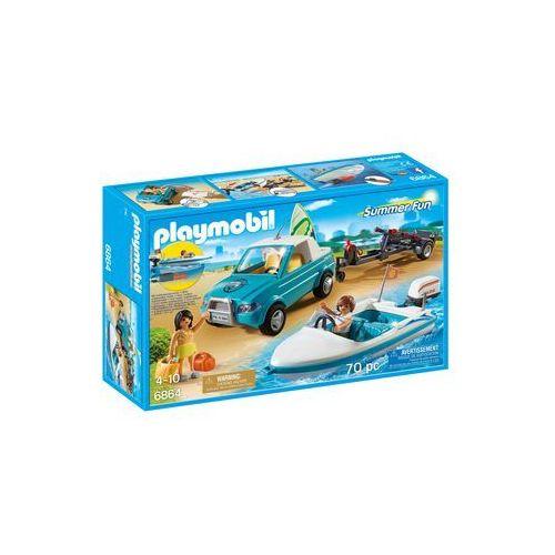 Playmobil SUMMER FUN Pickup z motorówką 6864 - BEZPŁATNY ODBIÓR: WROCŁAW!