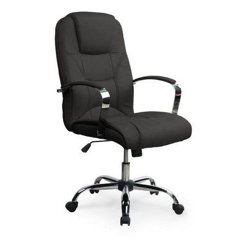 Fotel gabinetowy, obrotowy HALMAR NELSON - czarny