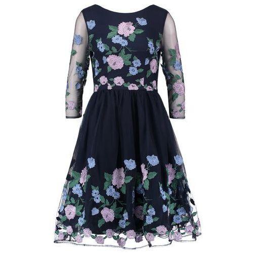 Chi Chi London CLAIRE Sukienka koktajlowa navy, kolor niebieski