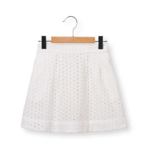 Spódniczka haftowana o fasonie rozszerzającym się ku dołowi 3-12 lat marki Abcd'r