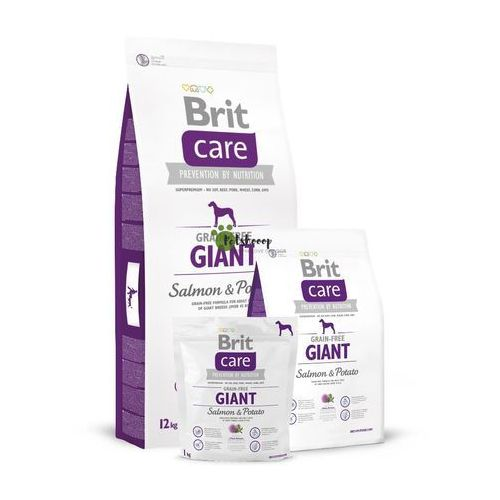 Brit Care GF GIANT SALMON & POTATO 1kg, 110-132732