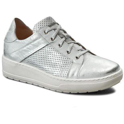be3d9d620cd09 Półbuty damskie · Sneakersy - 27-4374-369/c77-1g srebro lico marki Eksbut