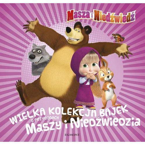 Wielka kolekcja bajek o przygodach Maszy i Niedźwiedzia