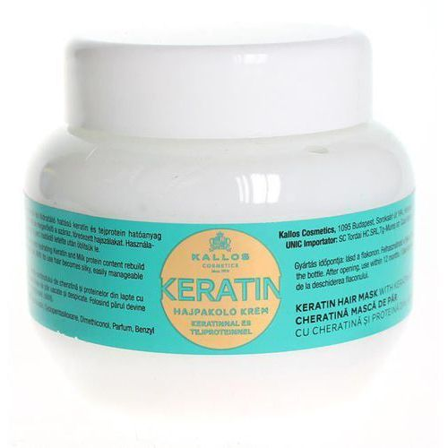 Kallos KJMN maseczka z keratyną (Keratin Hair Mask with Keratin and Milk Protein) 275 ml, 34330