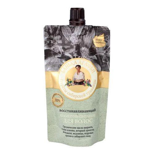 Kąpiel agafii – regenerujący szampon - odżywienie włosów – 100 ml marki Kąpiel agafii bania agafii