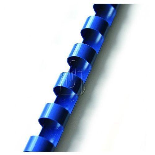 Grzbiety do bindowania 8mm niebieskie 100 sztuk, BP0784 - OKAZJE