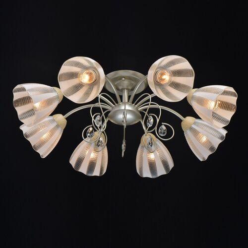 Lampa sufitowa srebrna, duże, szklane klosze Dream MW-LIGHT Megapolis (297013508)