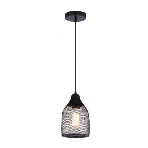 Candellux Lampa wisząca  briks stożek 1x60w czarny + darmowy transport!