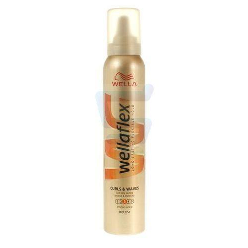 Pianka do włosów wella wellaflex loki i fale mocno utrwalająca 200 ml marki Procter & gamble