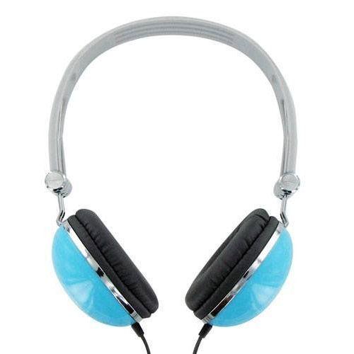 4World Słuchawki 4WORLD 4W pałąk Niebieski