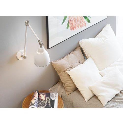 Lampa ścienna biała/srebrna MISSISSIPPI L (4260586352658)