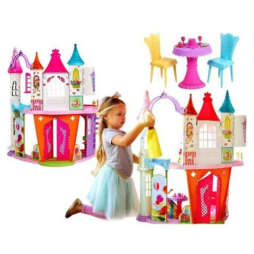 Mattel Barbie pałac domek krainy słodkości dream dyx32 lalka princess gratis!