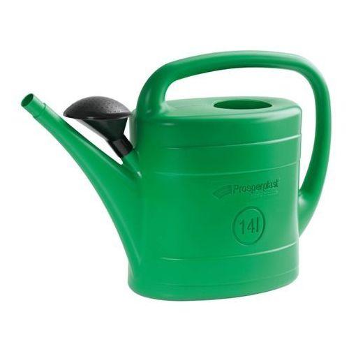 Konewka Spring Prosperplast : Kolor - Zielony, Pojemność - 14 l, IKSP14