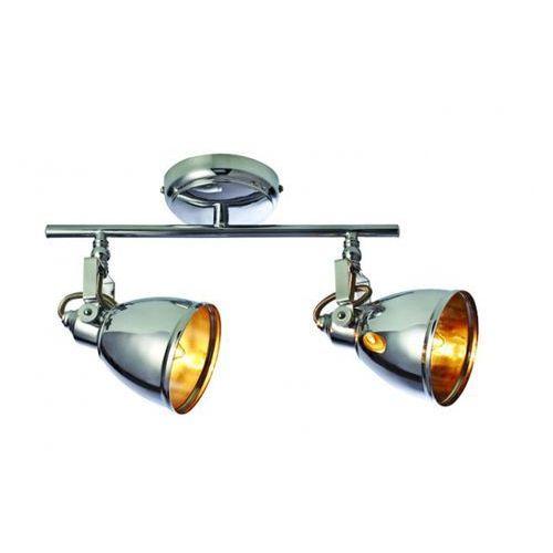 Sufitowa lampa retro fjallbacka 104906 reflektorowa oprawa metalowa chrom marki Markslojd