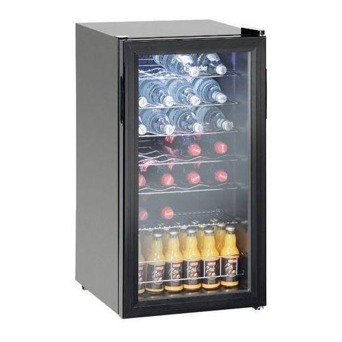 Szafa chłodnicza do butelek   88L   28 butelek   2 do 10 °C   430x480x(H)825 mm