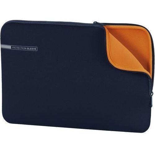 Pokrowiec na laptopa HAMA Sleeve Neoprene Essential 15,6 cala Granatowy (4047443349255)