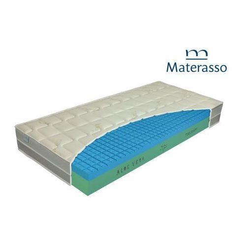 Materasso aloe therapy – materac piankowy, rozmiar - 90x200 wyprzedaż, wysyłka gratis