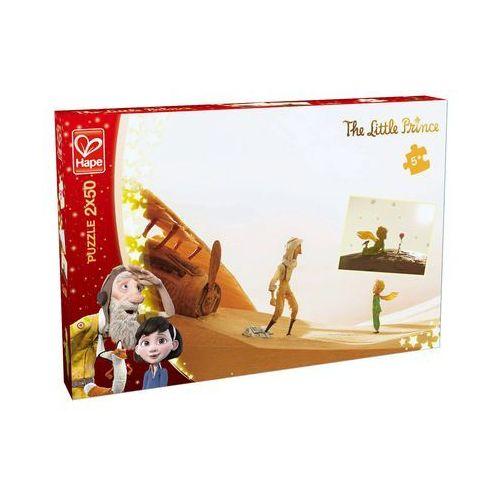 Puzzle 2x50 Mały Księżę - Spotkanie, AM_6943478013681