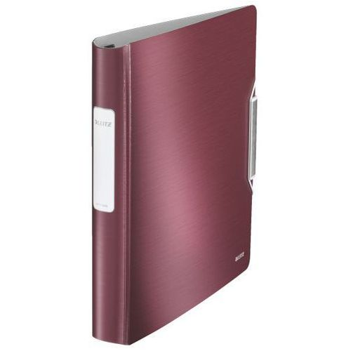 Segregator ofertowy Leitz Style A4/50/4ringi rubinowy 4245-28