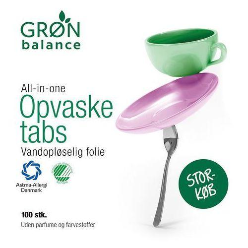 Gron balance (kosmetyki, środki czystości) Tabletki do zmywarki 100 szt - gron balance (5701410387150)