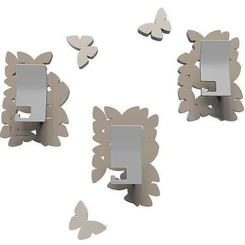 Wieszaki ścienne dekoracyjne butterflies gołębie (50-13-4-13) marki Calleadesign