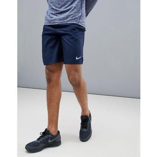Nike running dry challenger 9 inch shorts in navy 908800-451 - navy