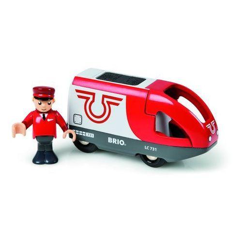 Brio Lokomotywa czerwona 33504