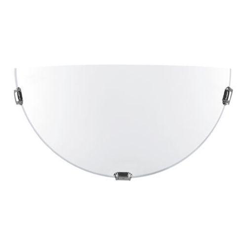 Lampex K1 Pekin Eco 241/K1 ECO kinkiet lampa ścienna 1x60W E27 biały / srebrny