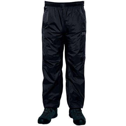 active packaway ii spodnie długie mężczyźni czarny m 2018 spodnie przeciwdeszczowe marki Regatta
