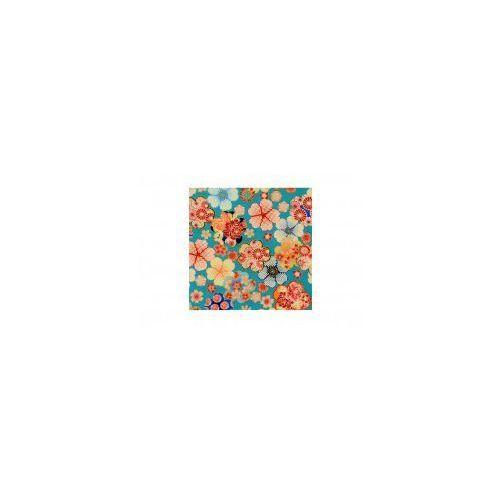 Furoshiki Niebieskie Kwiaty S, 97FC-74685