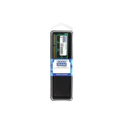 Pamięć GOODRAM SO-DIMM DDR3 4096MB PC1600 CL11 512x8 1,35V GR1600S3V64L11S/4G - prawie 2000 punktów odbioru - Paczkomaty, Stacje Orlen (5908267906613)