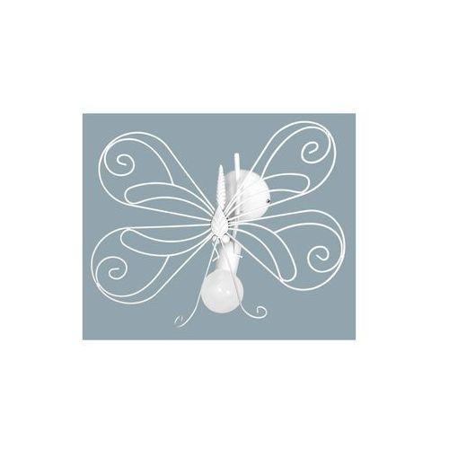 Luminex Kinkiet dziecięcy motyl 1xe27/60w biała