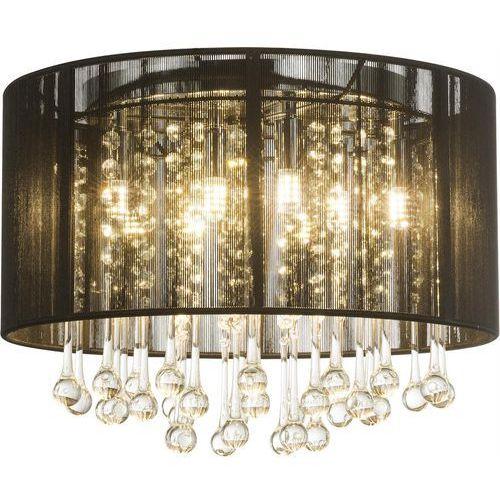 Plafon Globo Bagana 15095D lampa sufitowa 8x3W G9 LED czarny / chrom, kolor Czarny