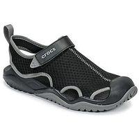 Crocs Sandały swiftwater mesh deck sandal m
