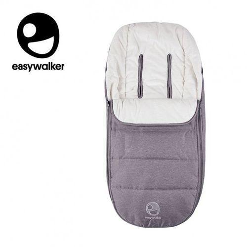Easywalker harvey śpiworek do wózka na zimę uniwersalny steel grey