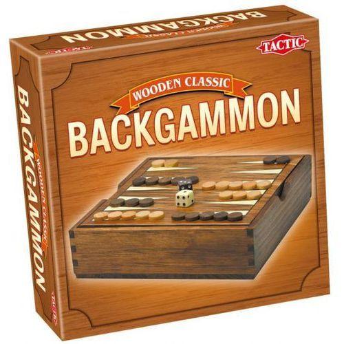 Tactic  gra wooden classic - backgammon