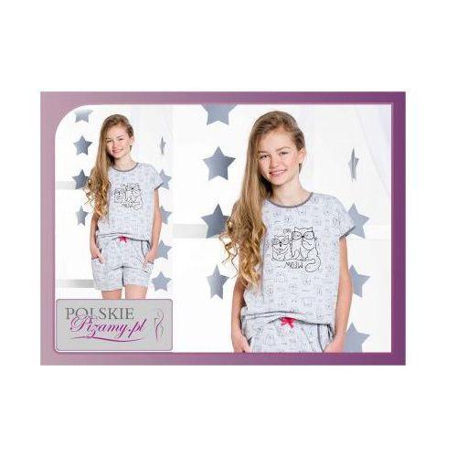 Piżama dziecięca ROZI: szary, kolor szary