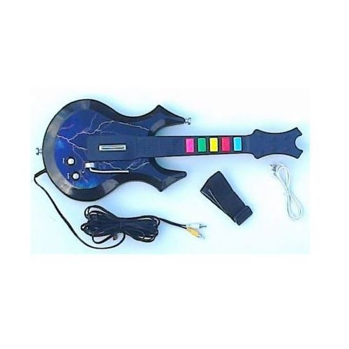 Gitara Guitar Hero Rock - Podłączana do TV., 590777341544179 - OKAZJE