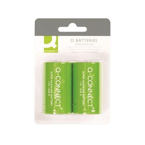 Baterie super-alkaliczne Q-CONNECT D, LR20, 1,5V, 2szt., KF00491