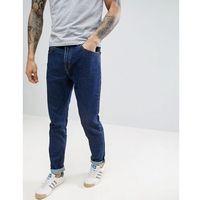 90s rider tapered jeans dark stonewash - blue marki Lee